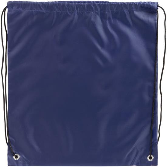 Gymnastikpåse Oriole EKO med tryck Marinblå