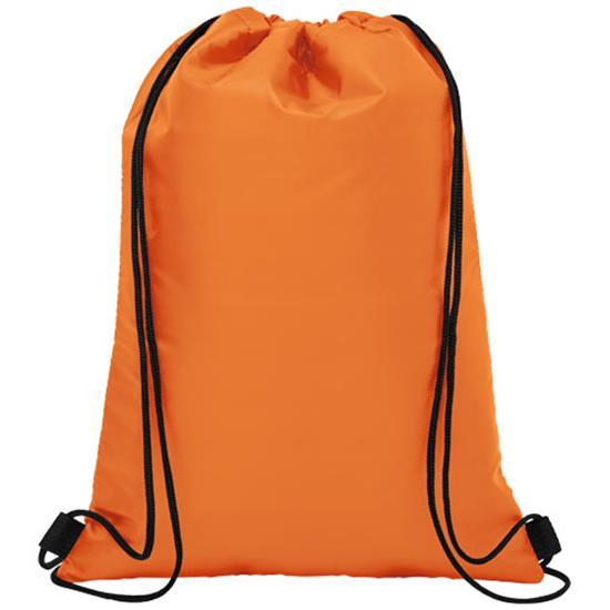 Isolerad gymnastikpåse Oriole 12 burkar med tryck Orange