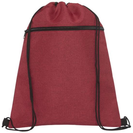 Gymnastikpåse Hoss med tryck Röd