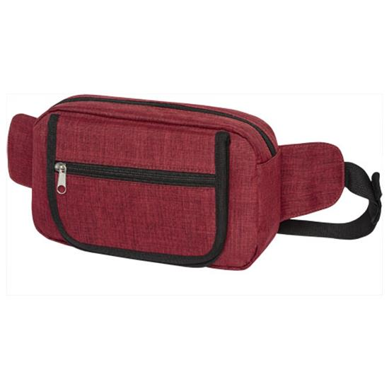Magväska Hoss med tryck Röd