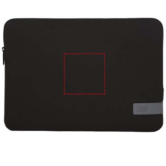 "Laptopfodral Case Logic Reflect 14""  med tryck Svart"