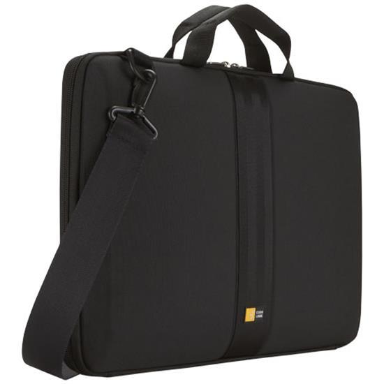 """Laptopfodral Case Logic 16"""" med handtag och rem med tryck Svart"""
