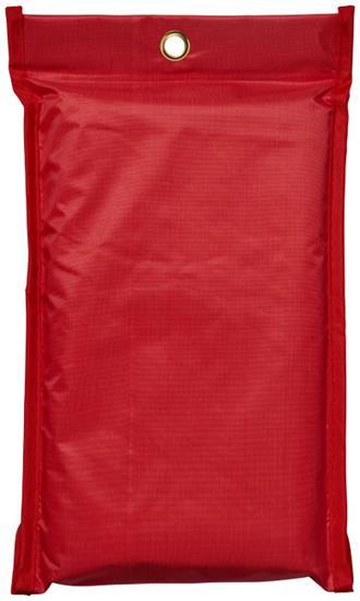 Brandfilt Margrethe med tryck Röd
