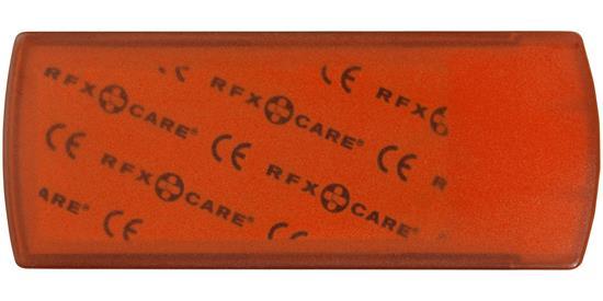 Plåsterlåda Christian 5 delars med tryck Orange