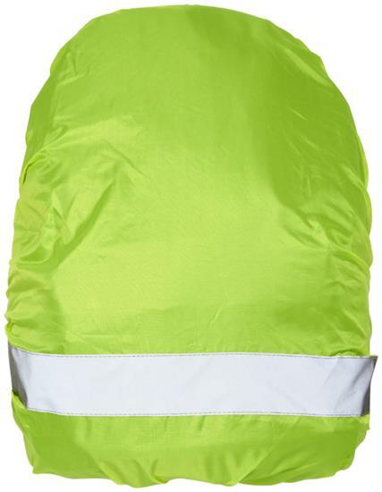 Väskskydd William vattentätt med tryck Neongul