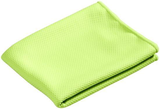 Sporthandduk Peter Cooling med tryck Limegrön