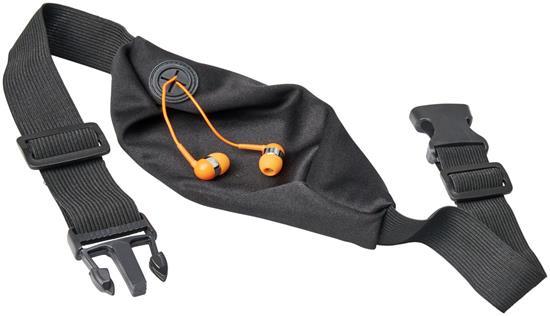 Sportmidjeväska Nicolas flexibel med tryck Orange