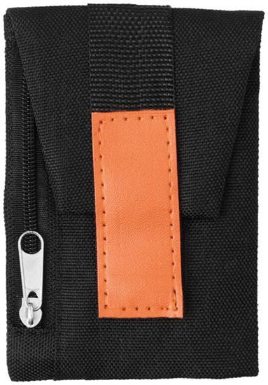 Skoplånbok Keeper med tryck Orange