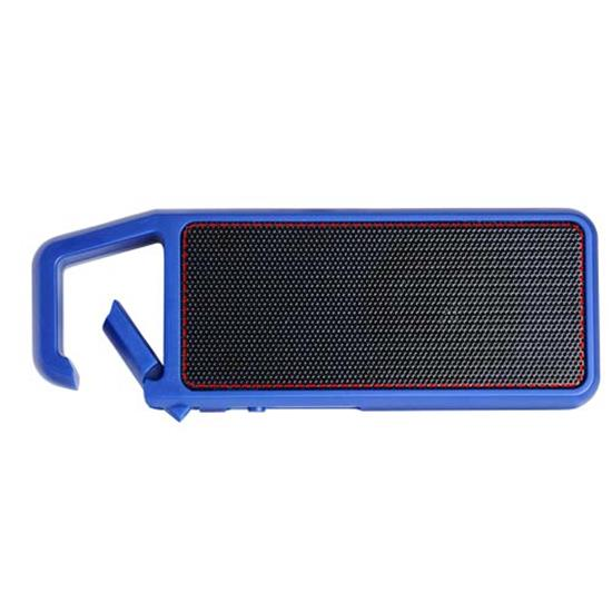 Högtalare Clip-Clap Bluetooth® med tryck Kungsblå