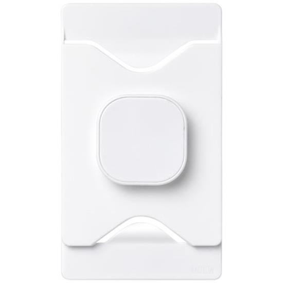 Korthållare Purse för mobilen med tryck Vit