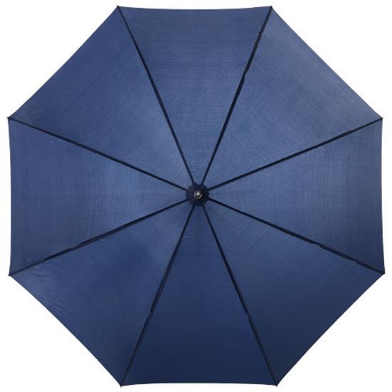"""23"""" paraply Lisa med tryck Marinblå"""