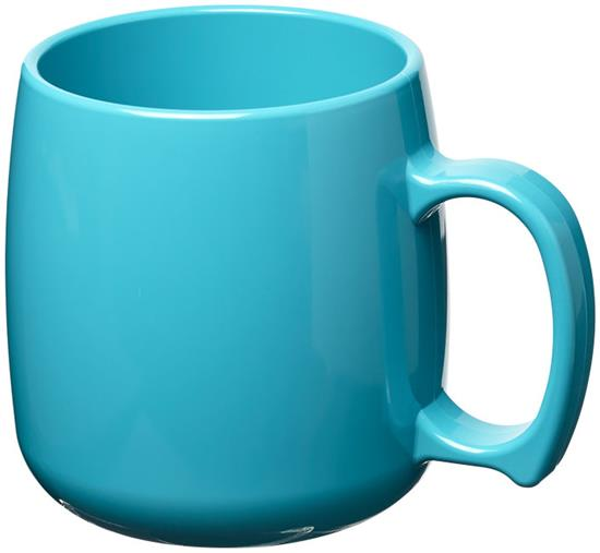 Plastmugg Classic 300 ml  med tryck Blå