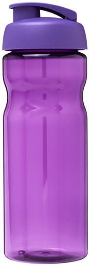 Sportflaska H2O Base® 650 ml rPET med uppfällbart lock med tryck Lila