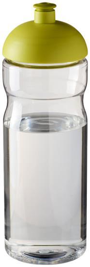 Sportflaska H2O Base® 650 ml rPET med tryck Limegrön