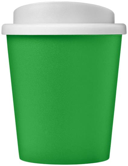 Take-Away Americano® Espresso 250ml isolerad med tryck Grön/Vit