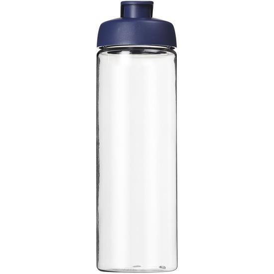 Sportflaska H2O Treble 850 ml med tryck Blå