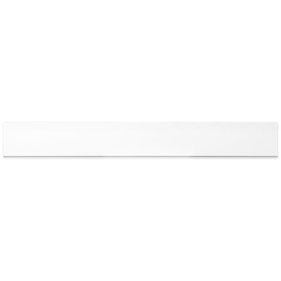 Plastlinjal Renzo Pure 30cm  med tryck Vit