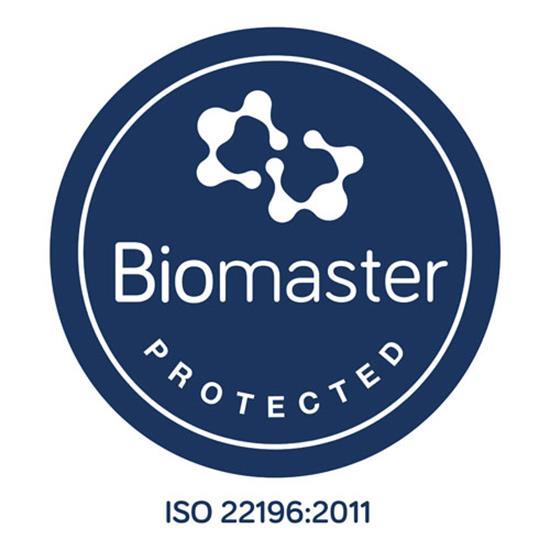 H2O Active® Base Pure 650 ml sportflaska med uppfällbart lock med tryck Vit