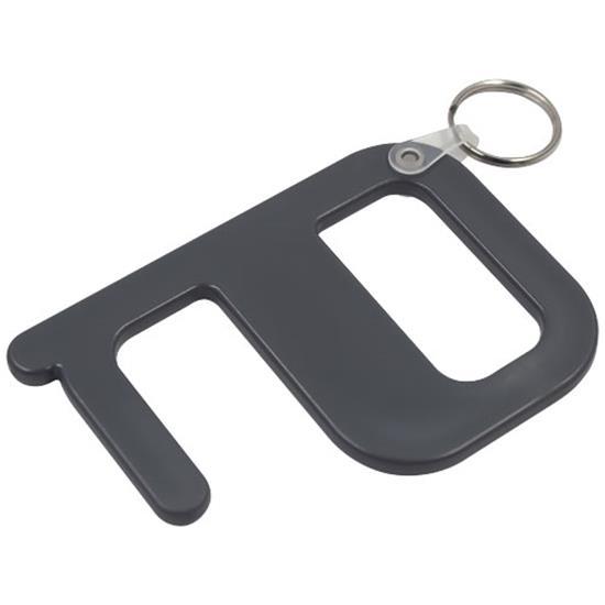 Hygiennyckel Plus med tryck Mörkgrå