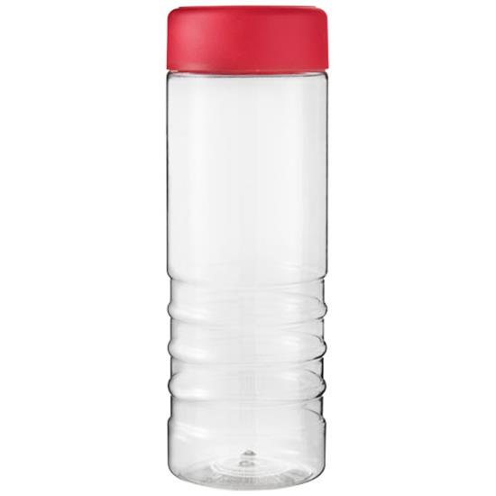 H2O Treble 750 ml screw cap water bottle med tryck Röd