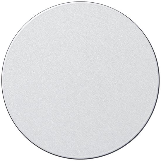 Brite-Mat® runt glasunderlägg med tryck Svart