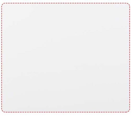 Q-Mat® rektangulär musmatta med tryck Svart