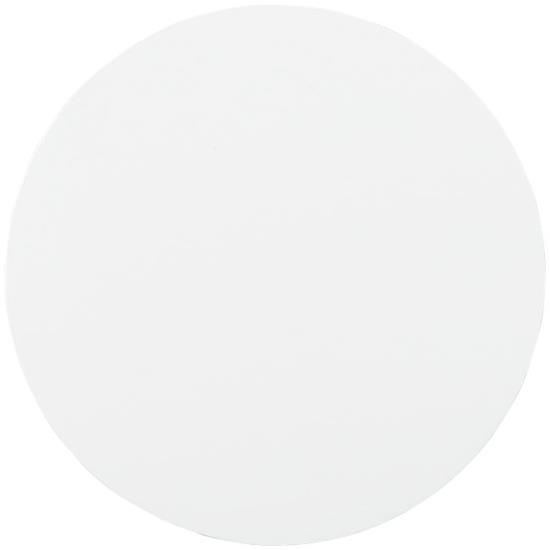 Q-Mat® rund musmatta med tryck Svart