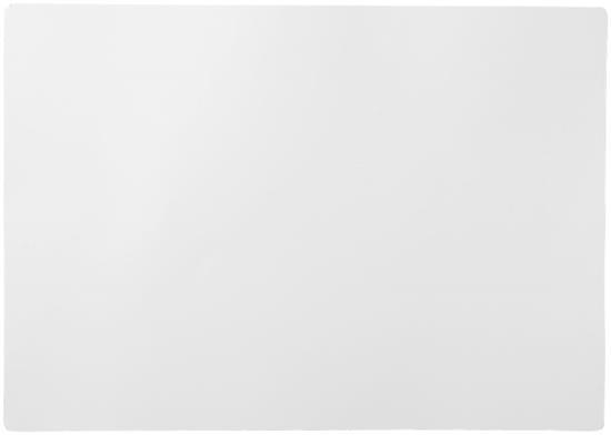 Q-Mat® skrivbordsunderlägg 42x59cm med tryck Svart