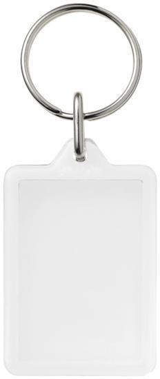 Midi kompakt nyckelring Y1 med tryck Vit