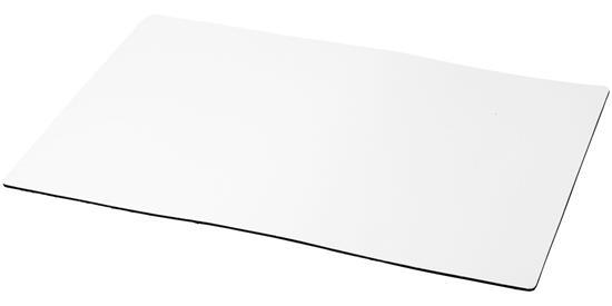 Q-Mat® skrivbordsunderlägg i A4-format med tryck Svart