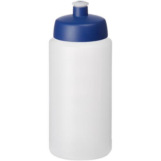 Sportflaska Baseline® Plus grip 500 ml med tryck Blå
