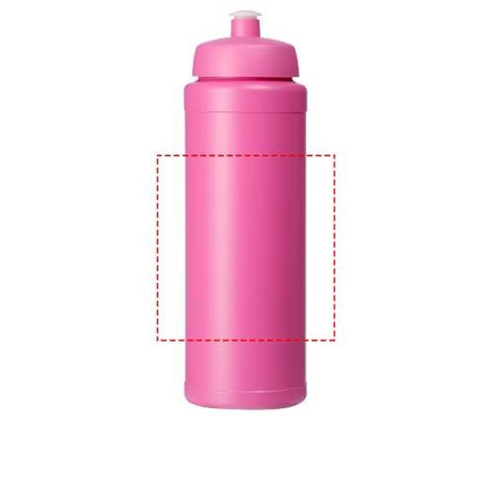 Sportflaska Baseline® Plus grip 750 ml med tryck Lila
