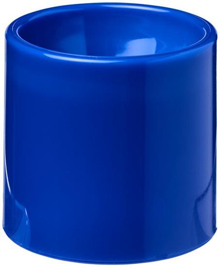 Edie äggkopp i plast med tryck Blå