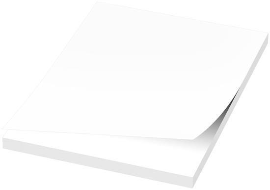 Budget Sticky-Mate® klisterlappar 103x75 med tryck Vit