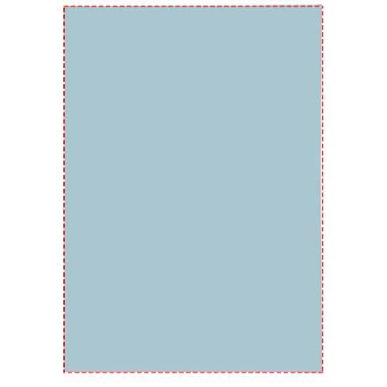 Notisblock Sticky-Mate® A8 med tryck Ljusblå