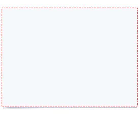 Notisblock Sticky-Mate® A7 med tryck Vit