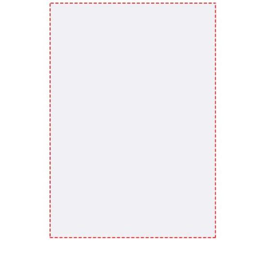 Anteckningsblock Desk-Mate® A5 med tryck Vit