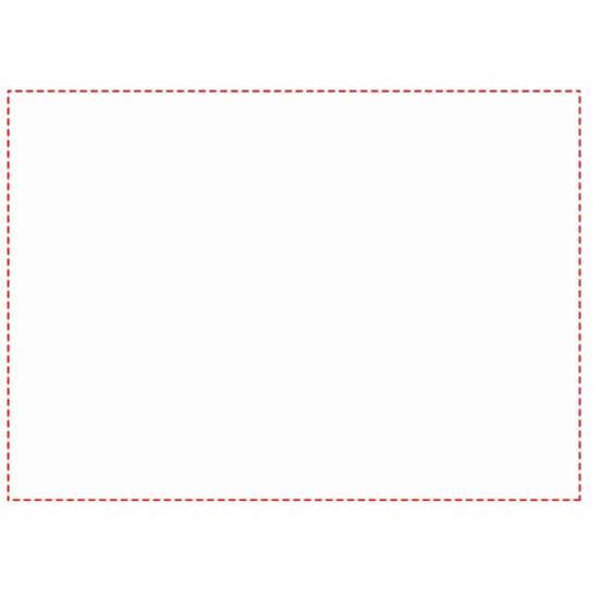 Anteckningsblock Desk-Mate® A3 med omslag med tryck Vit