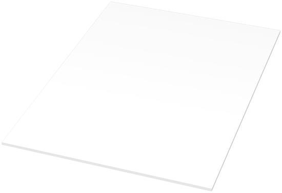 Anteckningsblock Desk-Mate® A4  med omslag med tryck Vit