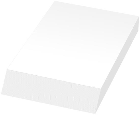 Anteckningsblock Wedge-Mate® A6 med tryck Vit