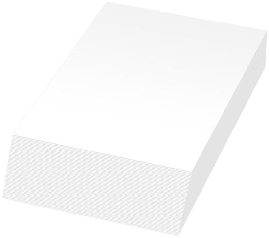 Anteckningsblock Jumbo Wedge-Mate® A5 med tryck Vit