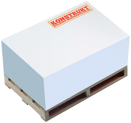 Memoblock Pall Block-Mate® 2B med tryck Vit