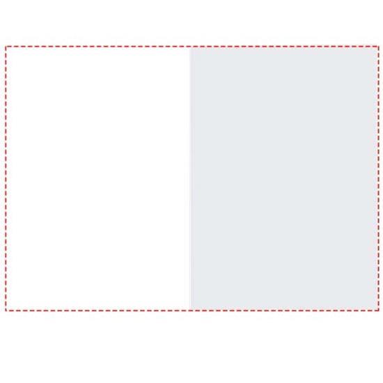 Combi notes page marker set hårt omslag med tryck Vit