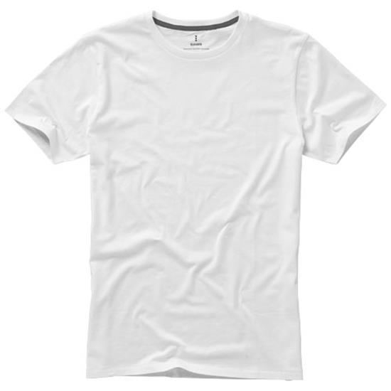 T-shirt Nanaimo med tryck Vit