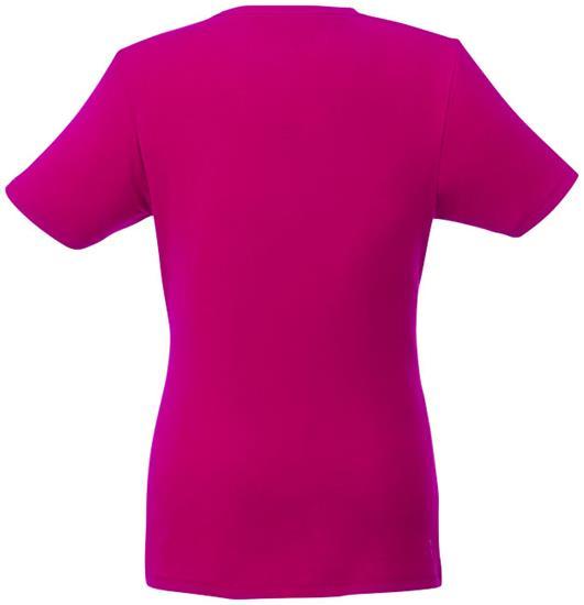 T-shirt Balfour EKO Dam med tryck Rosa