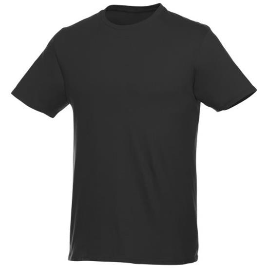 T-shirt Heros PRISVÄRD unisex med tryck Svart