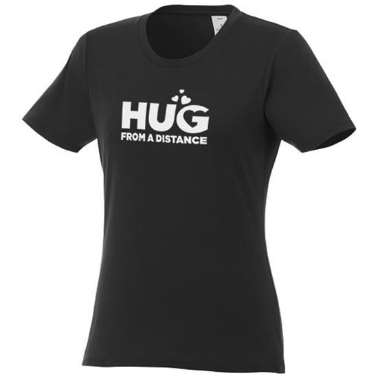 T-shirt Heros Dam med snabb leverans med tryck Svart