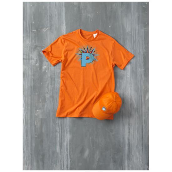 Keps Superhero med snabb leverans med tryck Orange