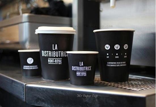 Pappersmuggar Espresso 120ml med tryck