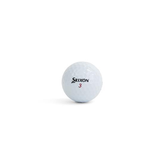 Golfboll - Srixon Z-Star XV med tryck Vit